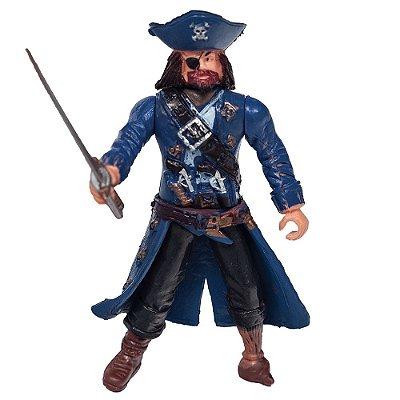 Boneco Piratas dos Sete Mares - Azul - Buba