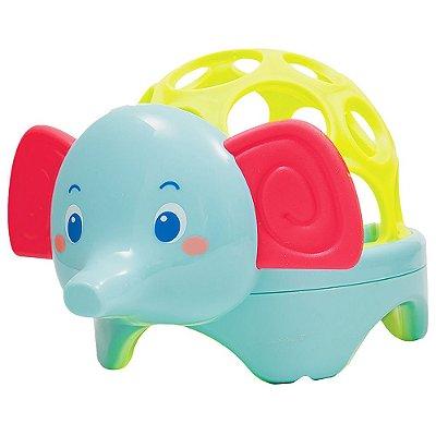 Baby Elefante Com Luz Ball - Buba Baby