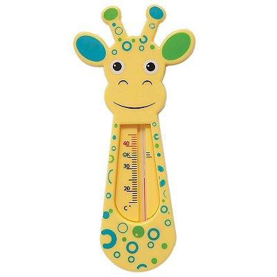 Termômetro Girafinha Para Banho - Azul - Buba