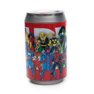 Cofre em Alumínio Marvel - Zona Criativa
