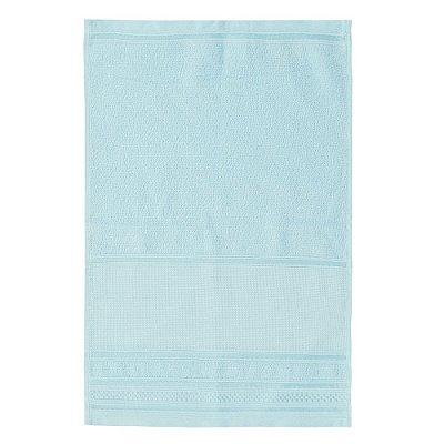 Toalha de Lavabo Pinte e Borde - Azul Claro - Santista