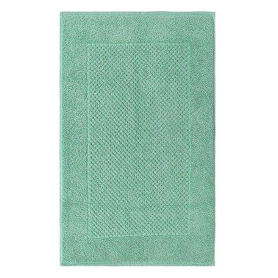 Toalha Piso para Pés Canelada Luxor - Azul Tiffany 1966 - Buddemeyer