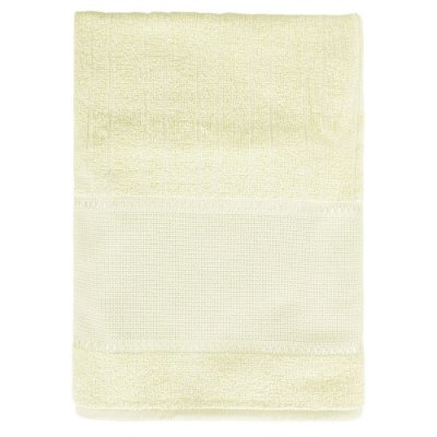 Toalha de Banho Para Bordar Firenze III - Amarelo Claro - Döhler