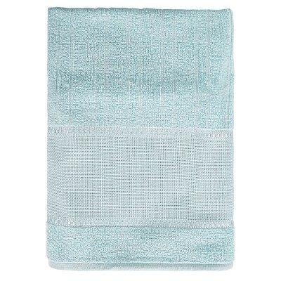 Toalha de Banho Para Bordar Firenze III - Azul - Döhler
