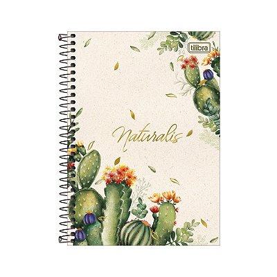 Caderno 1/4 Espiral Naturalis - 80 Folhas - Tilibra
