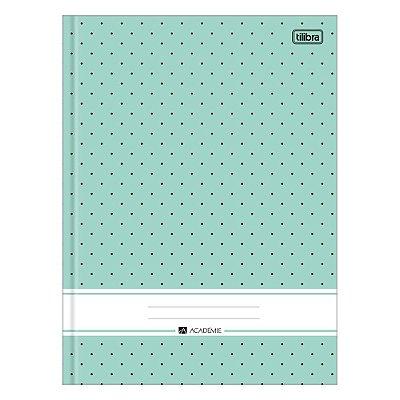Caderno Brochura Académie - Verde Claro - 96 Folhas - Tilibra