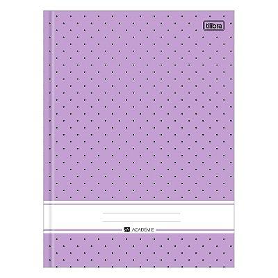 Caderno Brochura Académie - Roxo - 96 Folhas - Tilibra