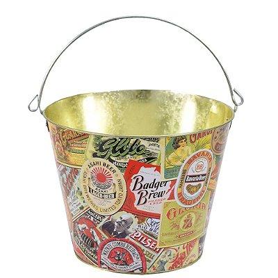 Balde Para Cerveja - Vintage Beer - Brasfoot