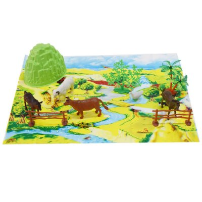 Kit Animal World - Animais da Fazenda - Buba