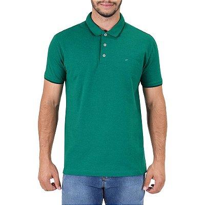 Camisa Polo Básica - Verde Esmeralda - Ellus