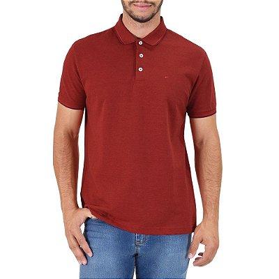 Camisa Polo Básica - Vermelho Cereja - Ellus