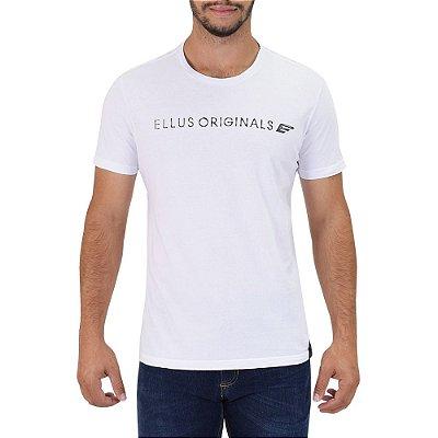 Camiseta Masculina Originals E - Branca - Ellus