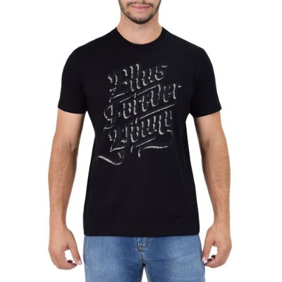 Camiseta Masculina Forever Young - Preta - Ellus
