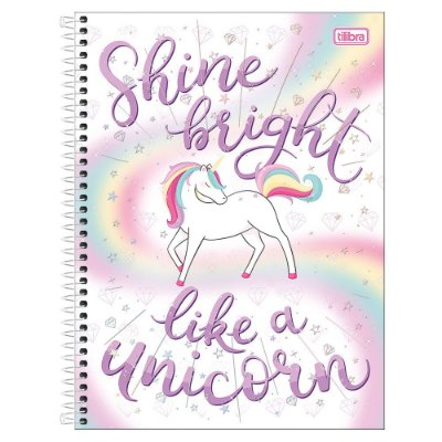 Caderno Blink - Shine Bright - 1 Matéria - Tilibra