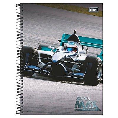 Caderno Super Max - Fórmula 1 - 1 Matéria - Tilibra