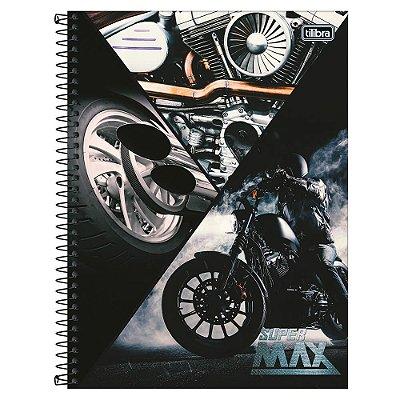Caderno Super Max - Motocicleta - 1 Matéria - Tilibra