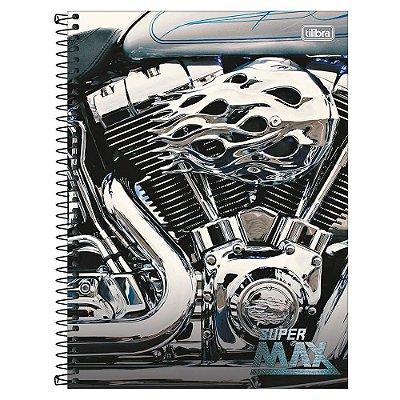 Caderno Super Max - Motor - 1 Matéria - Tilibra