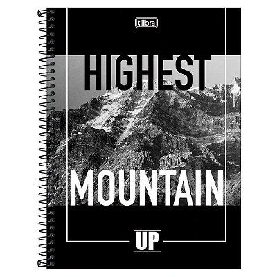 Caderno Up - Highest Mountain - 10 matérias - Tilibra