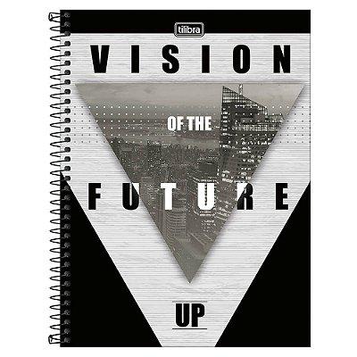 Caderno Up - Vision Of The Future - 10 matérias - Tilibra