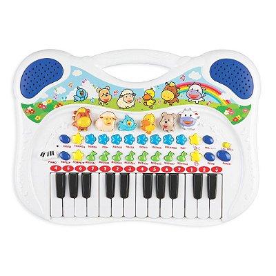 Piano Musical - Menino - Braskit