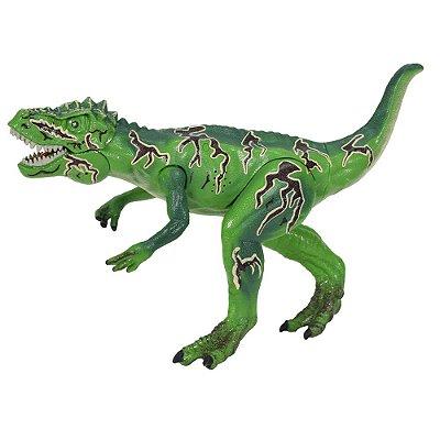 Dino Attack Com Dardos - Verde - Multikids