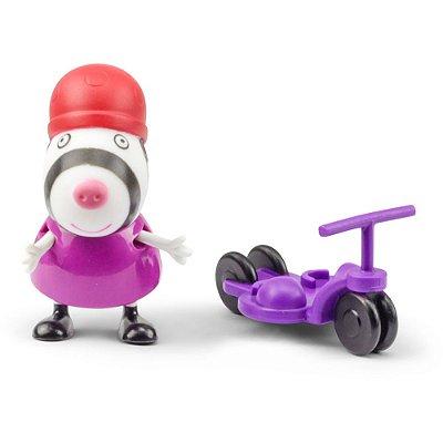 Boneca Suzy Ovelha Com Patinete - Peppa Pig - DTC