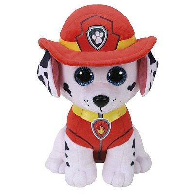 Pelúcia Ty Beanie Boos - Marshall - Patrulha Canina