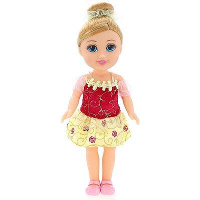 Boneca Sparkle Girlz - Bailarina Loira - DTC