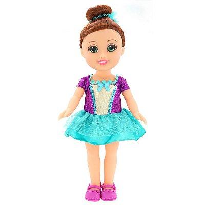 Boneca Sparkle Girlz - Bailarina Morena - DTC
