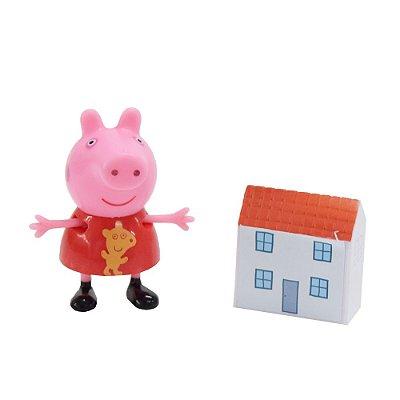 Boneca Peppa Com Casa - Peppa Pig - DTC