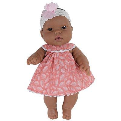 Boneca Baby Jr. Bebezinho Morena - Cotiplás