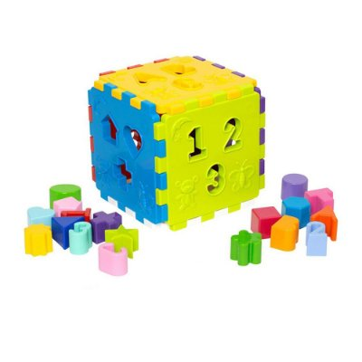 Cubo Didático - Mercotoys