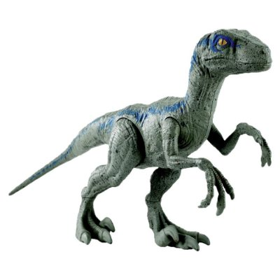 Figura Jurassic World - Velociraptor Blue - Mattel