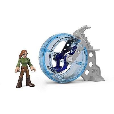 Imaginext Jurassic World - Claire e Giroesfera - Mattel