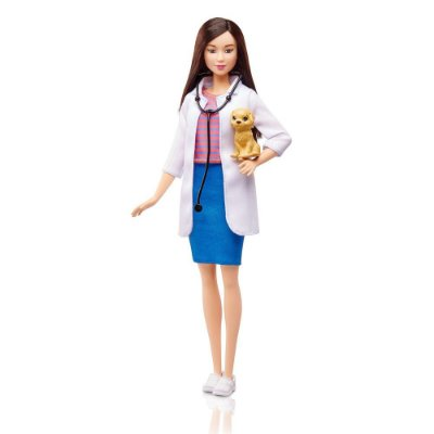 Boneca Barbie Profissiões - Veterinária - Mattel