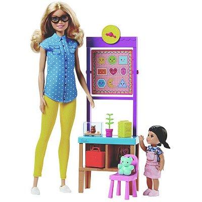 Boneca Barbie Profissões - Professora - Mattel