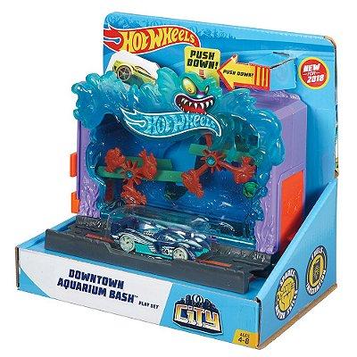 Conjunto Hot Wheels City - Escape do Aquário - Mattel