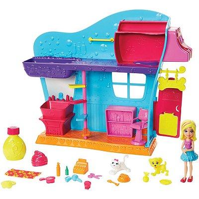 Polly Pocket - Salão de Beleza dos Bichinhos - Mattel
