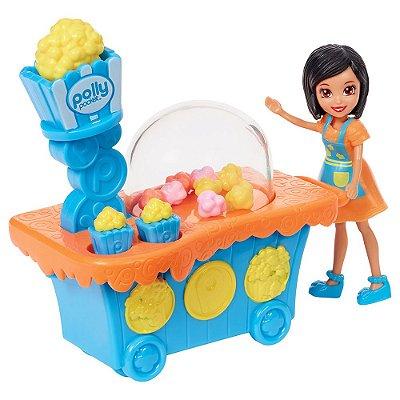 Polly Pocket - Carrinho de Pipoca - Mattel