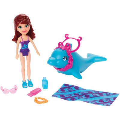 Polly Pocket Veículos Tropicais - Lila - Mattel