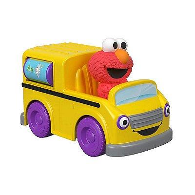 Sésamo Veículos - Ônibus do Elmo - Fisher Price