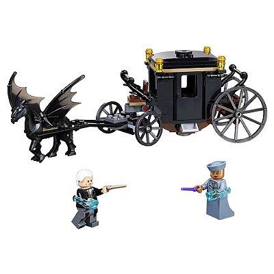 Lego Fantastic Beasts - Fuga de Grindelwald - 132 Peças - Lego