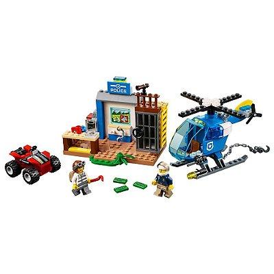 Lego Juniors - Perseguição da Polícia na Montanha - 115 Peças - Lego