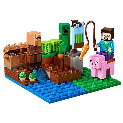 Lego Minecraft - Fazenda dos Melões - 69 Peças - Lego
