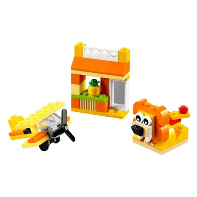 Lego Classic Laranja - 60 Peças - Lego