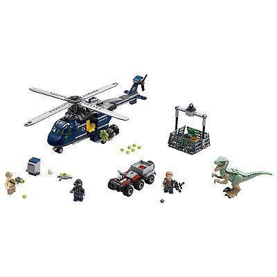 Lego Jurassic World - Perseguição no Helicóptero - 397 Peças - Lego