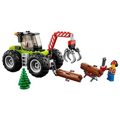 Lego City - Trator Florestal - 174 Peças - Lego
