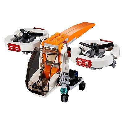 Lego Creator 3 em 1 - Drone Explorer - 109 Peças - Lego