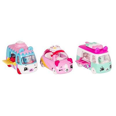 Shopkins Cutie Cars - Coleção Geladinhos - DTC