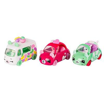 Shopkins Cutie Cars - Coleção Docinhos - DTC